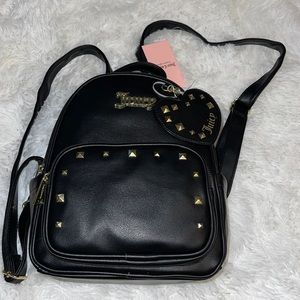Juicy Couture Black backpack New